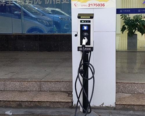 极数充浙江九紫新能源汽车充电站项目案例