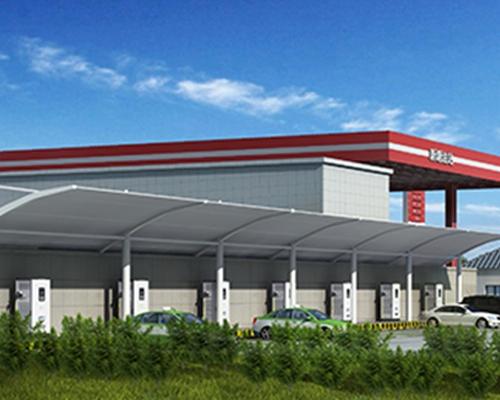 极数充江西华湖石化加油站充电站建设项目