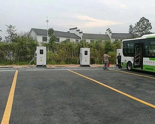 极数充新余仙女湖景区公交集团充电站项目案例