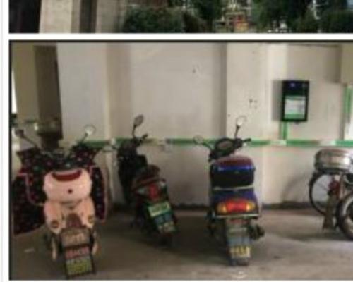 极数充江西九江沿浔小区电单车充电桩项目